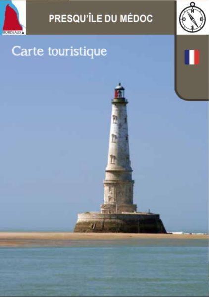 Carte touristique du Médoc