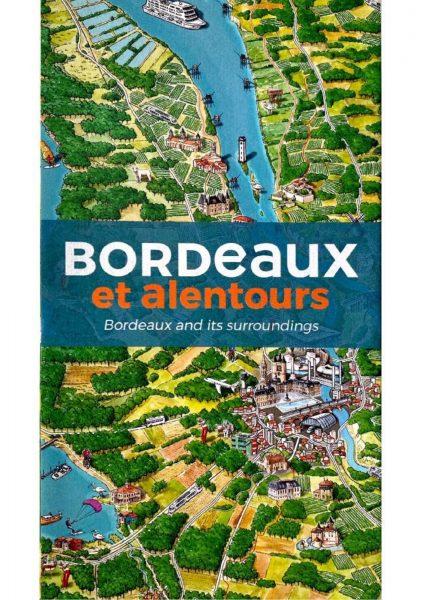 Carte de Bordeaux & alentours