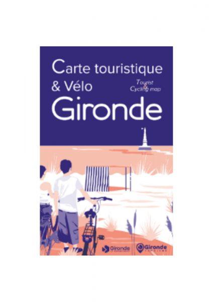 Carte des pistes cyclables de Gironde