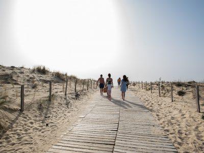Le Porge, la plage des Bordelais