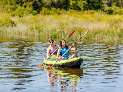Un après-midi canoë-kayak dans le Médoc