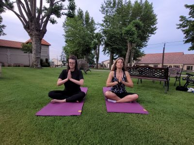 Soirée Yoga and Wine dans le vignoble Médocain