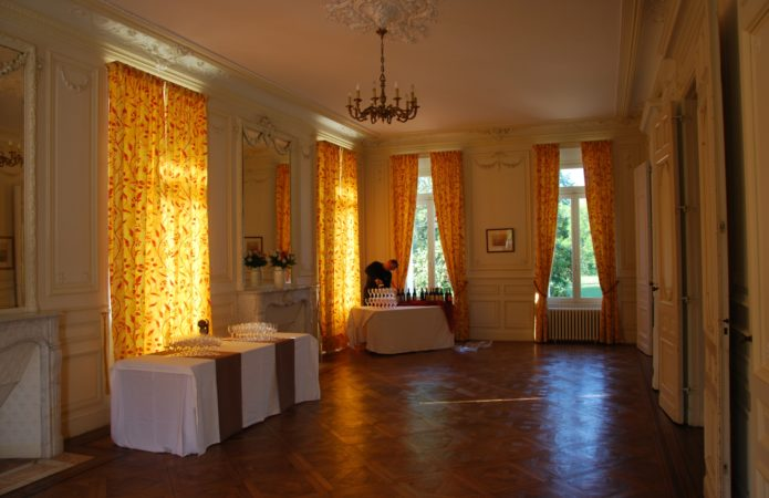 Chateau LESTAGE le salon