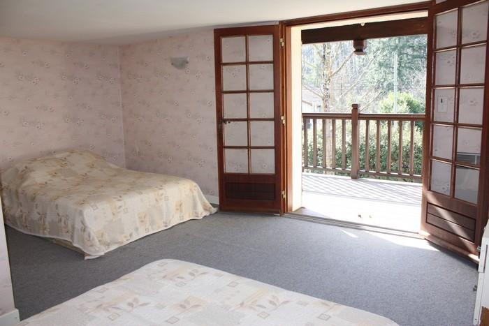 Le Porge Location M. Bertin chambre balcon