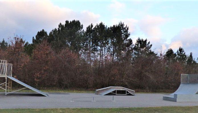 Skate parc Sainte-Hélène