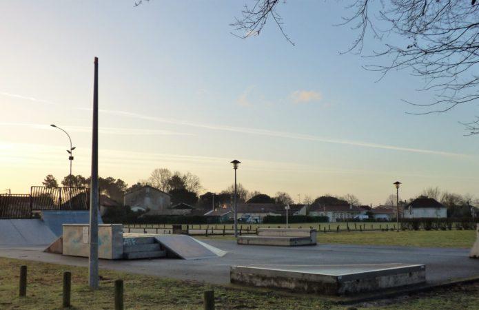 Skate parc le Porge