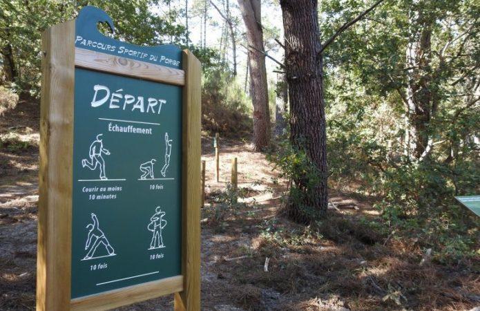 Parcours santé et sportif Le Porge