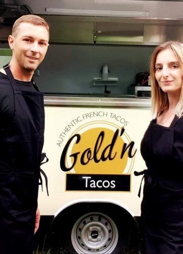 Le Gold'n Tacos